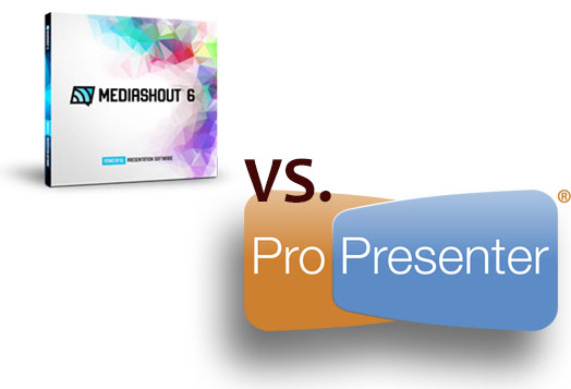 MediaShout vs  ProPresenter - The Sound Guy Is Invisible